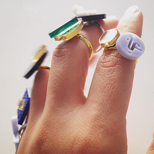 Lacey Lucy ring collection