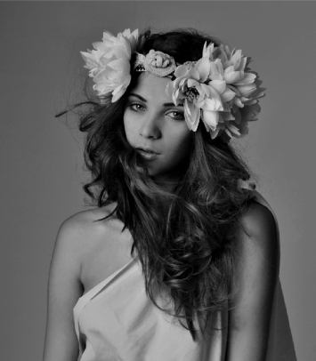 Photograph : Gary Bugeja Model : Valentina Rossi Make up : Stef Saliba Headpiece : Que